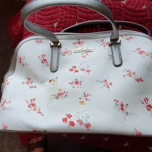 Kenneth Cole Reaction floral tote